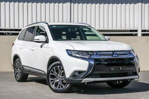 2017 Mitsubishi Outlander ZK MY17 LS (4x4) White Continuous Variable Wagon Cannington Canning Area Preview