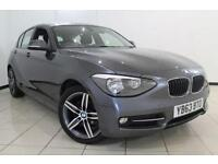 2013 63 BMW 1 SERIES 2.0 116D SPORT 5DR 114 BHP DIESEL