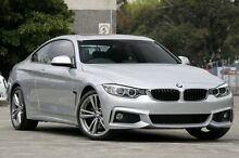 2013 BMW 420d F32 Sport Line Silver 8 Speed Automatic Coupe Petersham Marrickville Area Preview