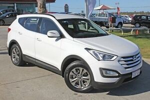 2014 Hyundai Santa Fe DM MY14 Active White 6 Speed Sports Automatic Wagon Pearsall Wanneroo Area Preview