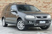 2009 Ford Territory SY Mkii Ghia RWD Grey 4 Speed Sports Automatic Wagon North Melbourne Melbourne City Preview
