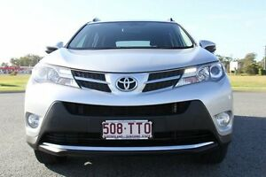 2014 Toyota RAV4 ALA49R MY14 GXL AWD Silver 6 Speed Sports Automatic Wagon Caboolture Caboolture Area Preview
