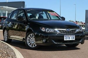 2007 Subaru Impreza G3 MY08 R AWD Black 4 Speed Sports Automatic Hatchback East Rockingham Rockingham Area Preview