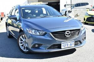 2013 Mazda 6 GJ1021 Touring SKYACTIV-Drive Blue 6 Speed Sports Automatic Wagon Claremont Nedlands Area Preview