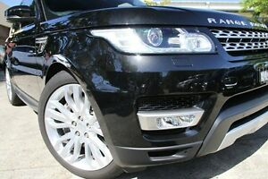 2013 Land Rover Range Rover LW Sport 3.0 SDV6 Autobiography Black 8 Speed Automatic Wagon Petersham Marrickville Area Preview