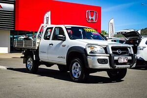 2010 Mazda BT-50 UNY0E4 DX+ Freestyle White 5 Speed Manual Cab Chassis Garbutt Townsville City Preview