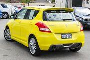 2015 Suzuki Swift FZ MY14 Sport Yellow 6 Speed Manual Hatchback Cannington Canning Area Preview
