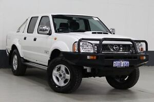 2015 Nissan Navara D22 Series 5 ST-R (4x4) White 5 Speed Manual Dual Cab Pick-up Bentley Canning Area Preview