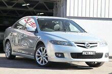 2006 Mazda 6 GG 05 Upgrade Luxury Sports Silver 6 Speed Manual Hatchback Mosman Mosman Area Preview