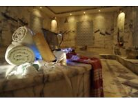 Hamam treatment and massage