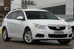 2013 Holden Cruze JH Series II MY14 CD Sportwagon White 6 Speed Sports Automatic Wagon Waitara Hornsby Area Preview