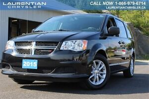 2015 Dodge Grand Caravan SXT-ONE OWNER+ACCIDENT FREE+FULLY LOADE