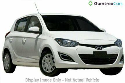 2014 Hyundai i20 PB MY15 Active White 4 Speed Automatic Hatchback Wangara Wanneroo Area Preview