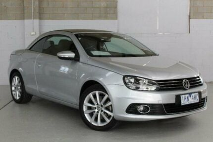 2012 Volkswagen EOS 1F 103TDI Silver Sports Automatic Dual Clutch Convertible