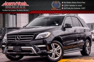 2014 Mercedes-Benz M-Class ML350 BlueTEC 4Matic|Lane Trac.,Park