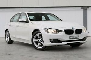 2013 BMW 320i F30 MY1112 White 8 Speed Sports Automatic Sedan Seven Hills Blacktown Area Preview