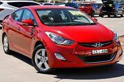 2012 Hyundai Elantra MD Elite Red 6 Speed Sports Automatic Sedan McGraths Hill Hawkesbury Area Preview