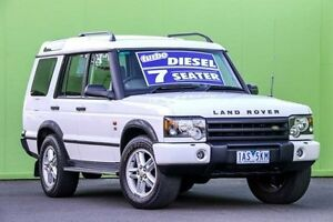2003 Land Rover Discovery 03MY SE Td5 White 4 Speed Automatic Wagon Ringwood East Maroondah Area Preview
