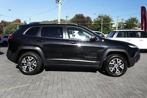 2014 Jeep Cherokee KL Trailhawk Black 9 Speed Sports Automatic Wagon Osborne Park Stirling Area Preview