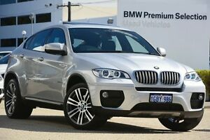 2013 BMW X6 E71 LCI MY1112 xDrive40d Coupe Steptronic Silver 8 Speed Sports Automatic Wagon Victoria Park Victoria Park Area Preview