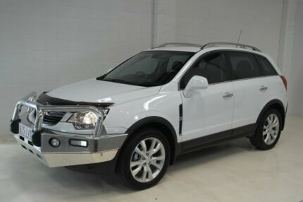 2014 Holden Captiva CG MY14 7 AWD LTZ White 6 Speed Sports Automatic Wagon Toowoomba Toowoomba City Preview