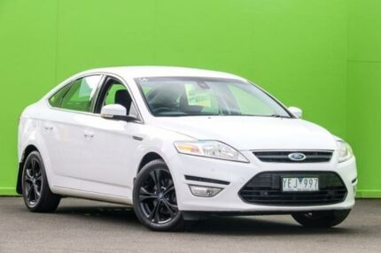 2011 Ford Mondeo MC LX PwrShift TDCi White 6 Speed Sports Automatic Dual Clutch Hatchback Ringwood East Maroondah Area Preview
