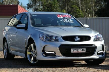 2015 Holden Commodore VF MY15 SV6 Sportwagon Silver 6 Speed Sports Automatic Wagon Tuggerah Wyong Area Preview