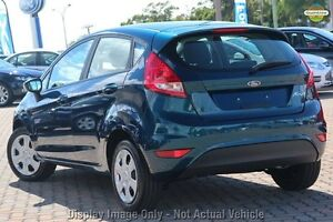 2012 Ford Fiesta WT CL PwrShift Blue 6 Speed Sports Automatic Dual Clutch Hatchback Northbridge Perth City Area Preview