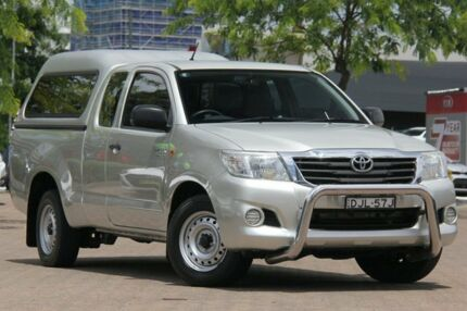 2012 Toyota Hilux GGN15R MY12 SR Silver 5 Speed Automatic X Cab Pickup