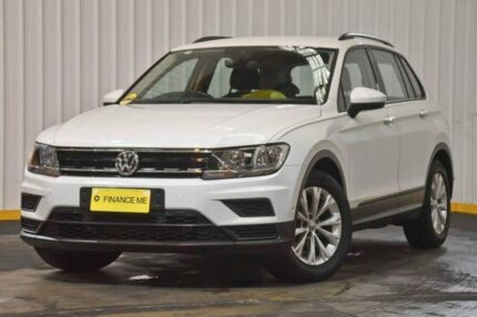 2017 Volkswagen Tiguan 5N MY17 110TSI DSG 2WD Trendline White 6 Speed Sports Automatic Dual Clutch Hendra Brisbane North East Preview