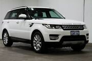 2015 Land Rover Range Rover Sport L494 15.5MY SDV8 CommandShift HSE White 8 Speed Sports Automatic Welshpool Canning Area Preview