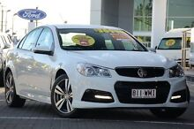 2015 Holden Commodore VF MY15 SV6 White 6 Speed Sports Automatic Sedan Moorooka Brisbane South West Preview