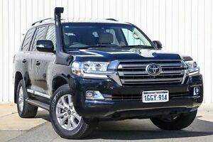 2016 Toyota Landcruiser VDJ200R Sahara Black 6 Speed Sports Automatic Wagon Willetton Canning Area Preview