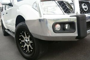2012 Nissan Navara D40 ST-X 550 (4x4) White 7 Speed Automatic Dual Cab Utility Glendalough Stirling Area Preview