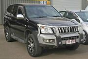 2004 Toyota Landcruiser Prado KZJ120R GXL Black 4 Speed Automatic Wagon Gympie Gympie Area Preview
