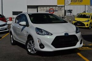 2016 Toyota Prius c NHP10R i-Tech E-CVT White Mist 1 Speed Constant Variable Hatchback Claremont Nedlands Area Preview