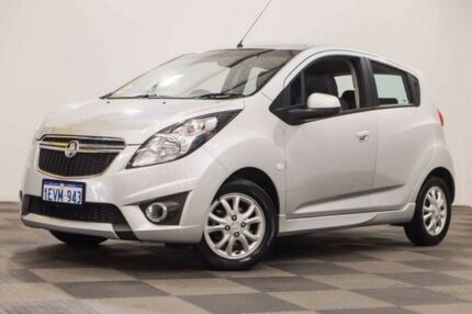 2015 Holden Barina Spark MJ MY15 CD Silver 4 Speed Automatic Hatchback