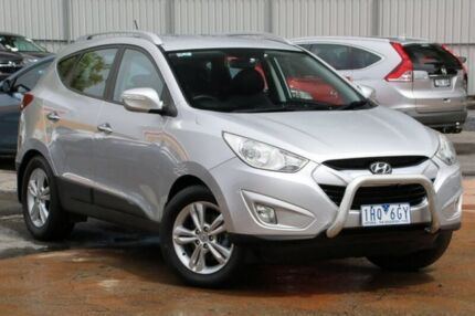 2010 Hyundai ix35 LM NULL Elite AWD White 6 Speed Sports Automatic Wagon Ferntree Gully Knox Area Preview