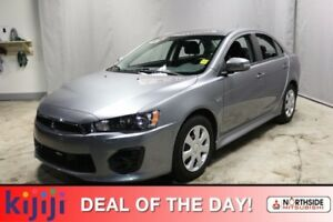2017 Mitsubishi Lancer ES Heated Seats,  Back-up Cam,  Bluetooth