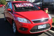 2011 Ford Focus LV MY11 LX Red 4 Speed Automatic Hatchback Briar Hill Banyule Area Preview
