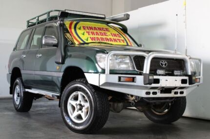 1998 Toyota Landcruiser FZJ105R GXL (4x4) Green 4 Speed Automatic 4x4 Wagon Underwood Logan Area Preview