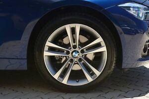 2016 BMW 318I F30 LCI Sport Line Blue 8 Speed Sports Automatic Sedan Victoria Park Victoria Park Area Preview