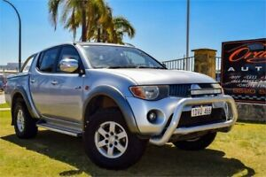 2006 Mitsubishi Triton MK MY06 GLX-R (4x4) Silver 5 Speed Manual Double Cab Utility Greenfields Mandurah Area Preview