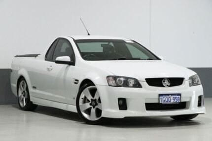 2008 Holden Commodore VE SS-V White 6 Speed Manual Utility Bentley Canning Area Preview