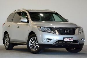2015 Nissan Pathfinder R52 MY15 ST (4x2) Silver Continuous Variable Wagon Coopers Plains Brisbane South West Preview
