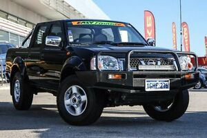 2015 Nissan Navara D22 S5 ST-R Black 5 Speed Manual Utility Cannington Canning Area Preview