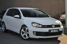 2011 Volkswagen Golf VI MY11 GTI DSG White 6 Speed Sports Automatic Dual Clutch Hatchback Burwood Whitehorse Area Preview