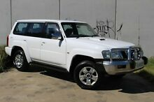 2005 Nissan Patrol GU IV MY05 ST White 4 Speed Automatic Wagon Derwent Park Glenorchy Area Preview