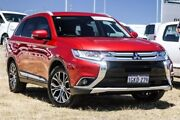 2016 Mitsubishi Outlander ZK MY16 XLS 4WD Red 6 Speed Sports Automatic Wagon Bibra Lake Cockburn Area Preview