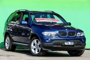2006 BMW X5 E53 MY05 Steptronic Le Mans Blue 5 Speed Sports Automatic Wagon Ringwood East Maroondah Area Preview
